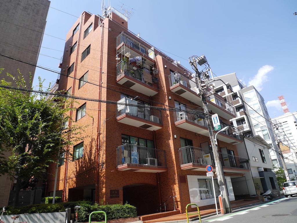 港区赤坂6丁目 区分マンション 3階-外観