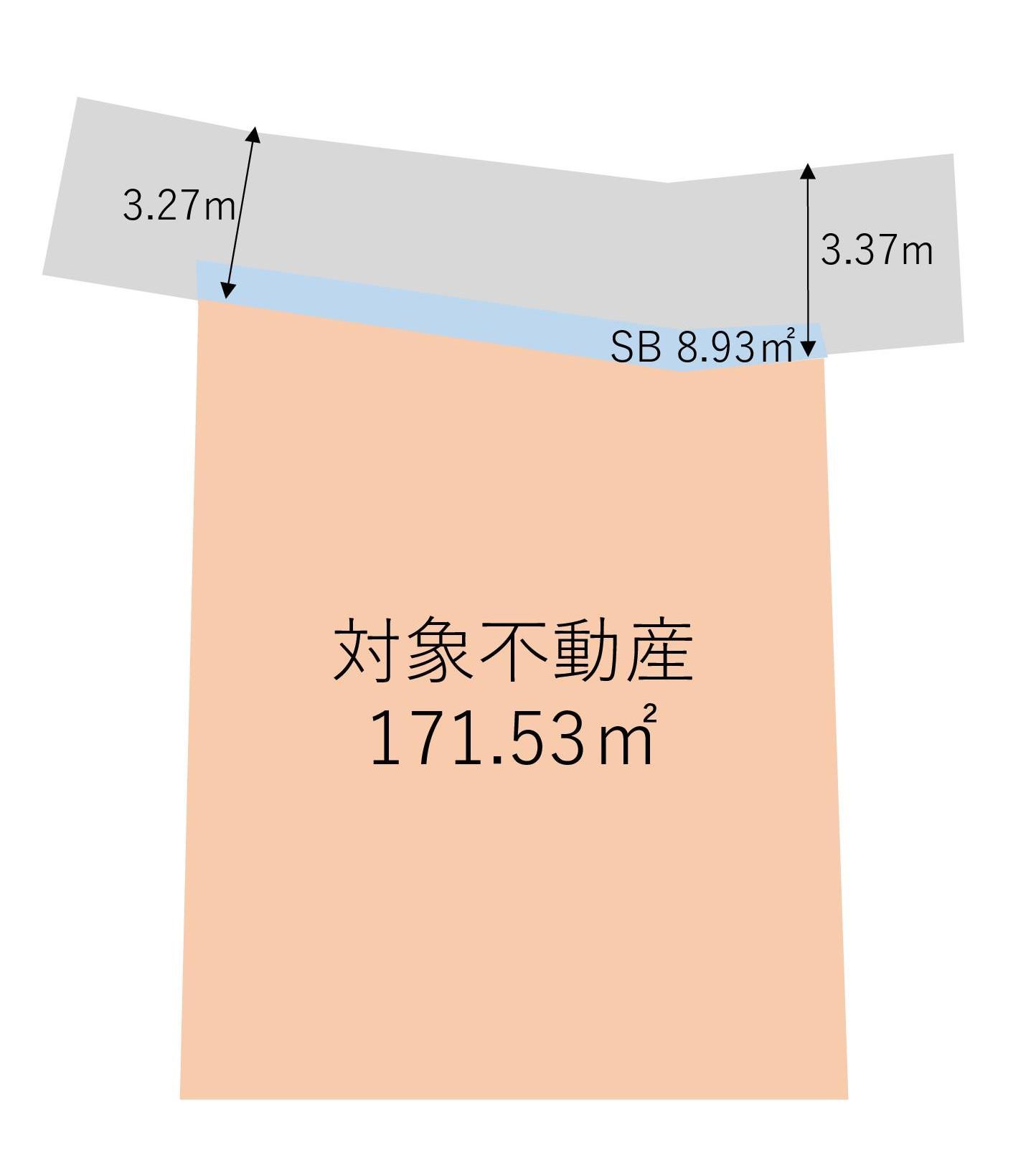 【☆売主物件☆】渋谷区西原2丁目 売地-間取り