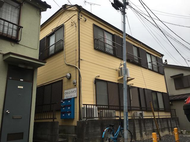 横浜市神奈川区六角橋一丁目 中古アパート-外観