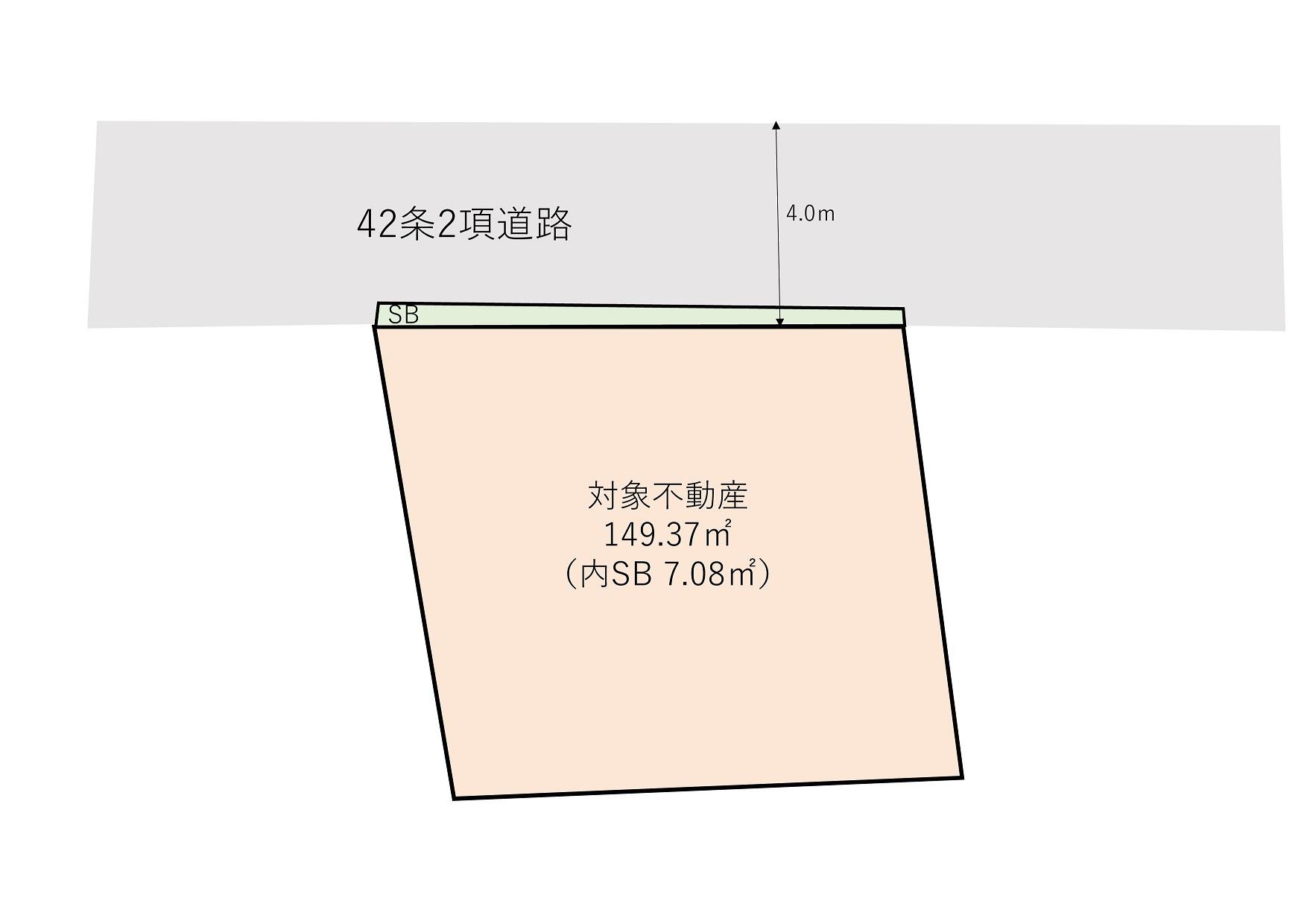 渋谷区西原2丁目 売地-間取り